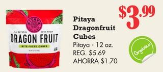 Pitaya Dragonfruit Cubes Pitaya