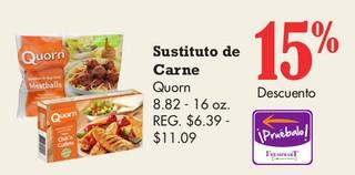 Sustituto de Carne Quorn