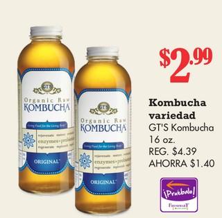 Kombucha GT´S Kombucha
