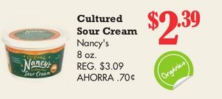 Cultured Sour Cream Nancy´s
