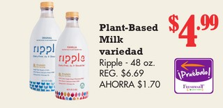 Plant-Based Milk Ripple
