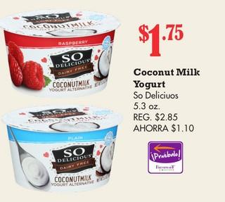 Coconut Milk Yogurt so Delicious