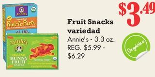 Fruit Snacks Annie´s