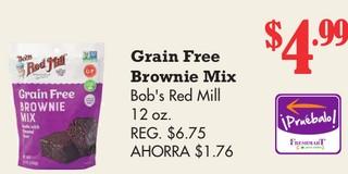 Grain Free Brownie Mix Bob´s Red Mill