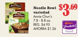 Noodle Bowl Annie Chun´s
