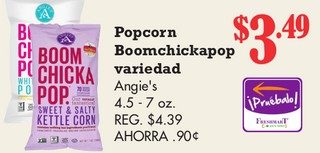 Popcorn Boomchickapop Angie´s