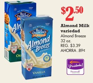 Almond Milk Almond Breeze