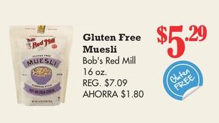 Gluten Free Muesli Bob´s Red Mill