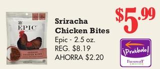 Siracha Chicken Bites