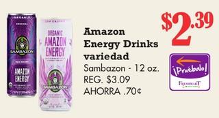 Amazon Energy Drinks Variedad