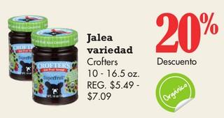 Jalea Variedad Crofters