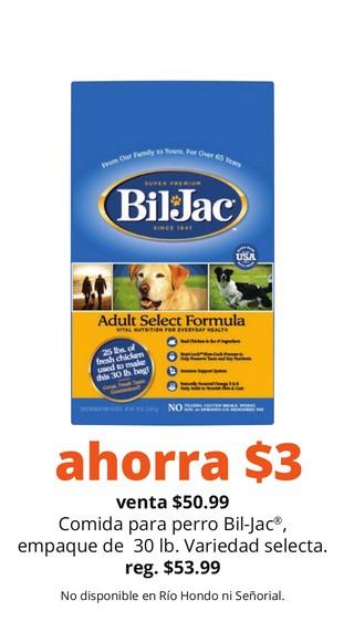 Comida para Perro Bil-Jac