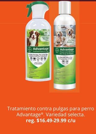 Tratamiento Contra Pulgas para Perro Advantage