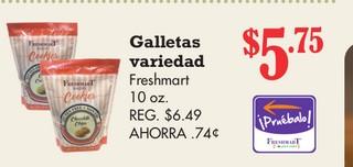 Galletas Variedas Freshmart 10 oz