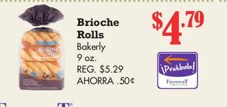 Brioche Rolls Bakerly