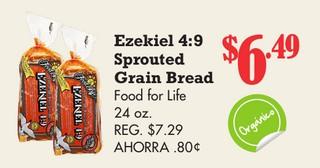 Ezekiel 4:9 Sprouted Grain Bread