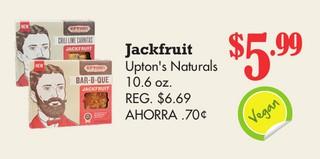 Jackfruit Upton's Naturals 10.6 oz