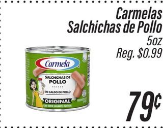 Carmelas Salchichas de Pollo