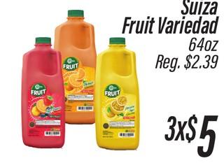 Suiza Fruit Variedad