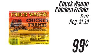 Chuck Wagon Chicken Franks