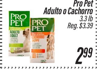 Pro Pet Adulto o Cachorro