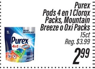 Purex Pods 4 en 1