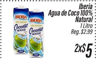 Iberia Agua de Coco 100% Natural
