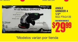 """Angle Grinder 4 1/2"""""""