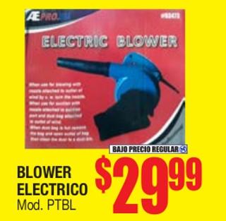 Blower Electrico