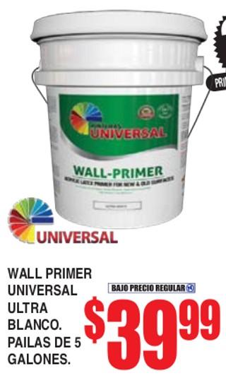 Universal Wall Primer