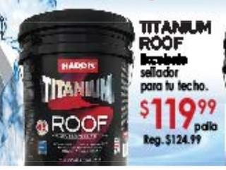 Titanium Roof Sellador