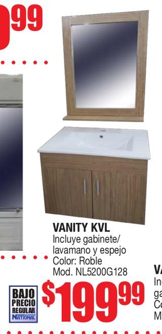 Vanity KVL