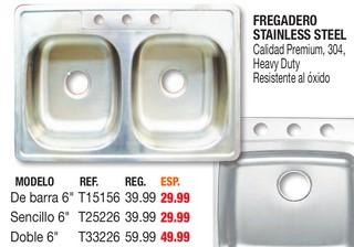 Fregadero Stainless Steel