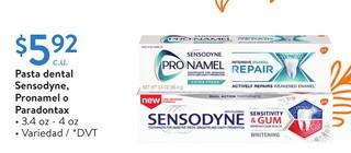 Pasta Dental Sensodyne, Pronamel o Paradontax