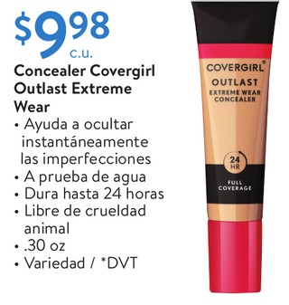 Concealer Covergirl Outlast Extreme Wear