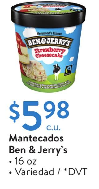 Mantecados Ben & Jerry's