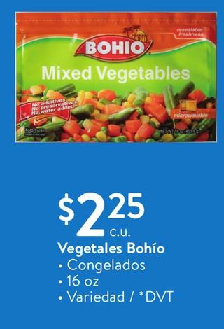 Vegetales Bohio