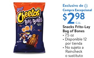Snacks Frito-Lay Bag of Bones