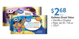 Galletas Great Value