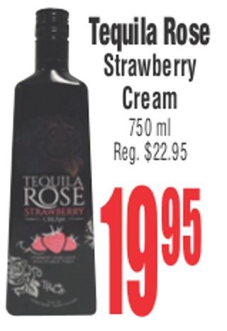Taquila Rose Strawberry Cream