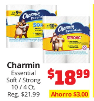 Charmin Essential Soft / Strong