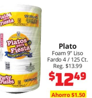 """Plato Foam 9"""""""