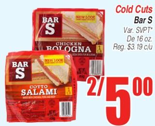 Cold Cuts Bar S