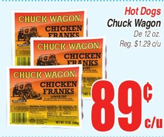 Hot Dogs Chuck Wagon
