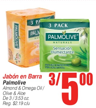 Jabon en Barra Palmolive