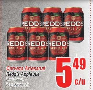 Cerveza Artesanal Redd's Apple Ale