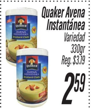 Quaker Avena Instantánea