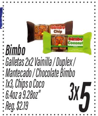 Bimbo Galletas
