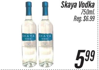 Skaya Vodka