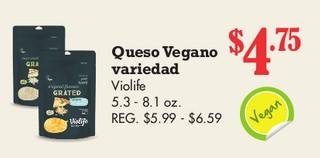 Queso Vegano Variedad